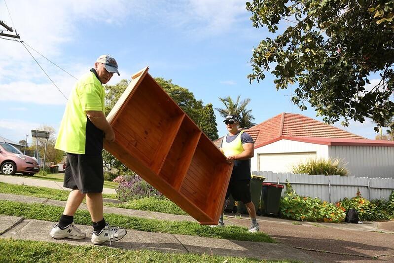 moving a furnishing